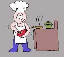 Мъж в кухнята!