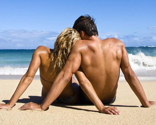 Двойка на плажа