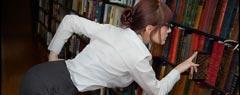 Секси библиотекарка