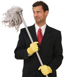 Чистене