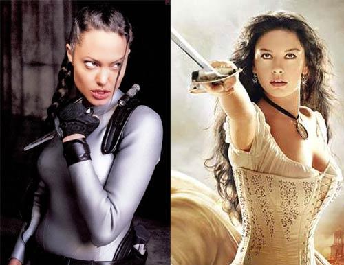 Анджелина Джоли срещу Катрин Зита Джоунс
