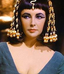 Елизабет Тейлър като Клеопатра