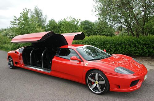 Лимузината Ferrari 360 Modena