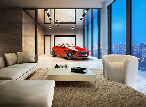 Да паркираш в дневната