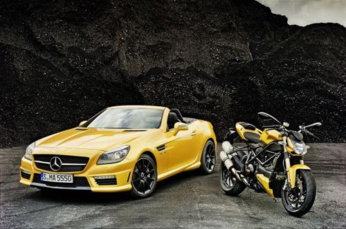 Mercedes и Ducati