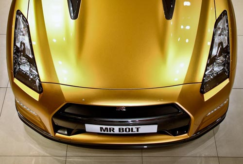 Nissan GT-R Bolt Gold
