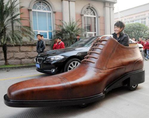 Автомобил-обувка