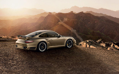 Porsche 911 Turbo S China Edition
