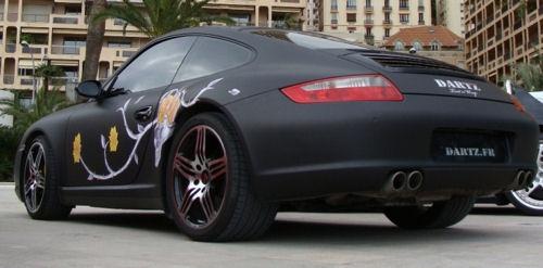 Porsche с кожа на кит