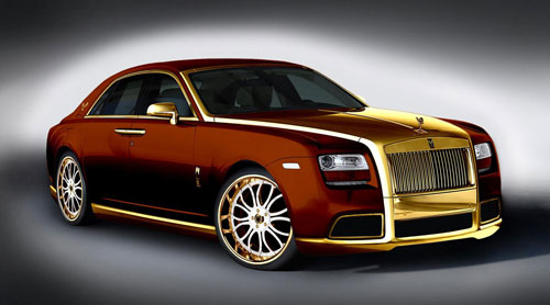 Rolls-Royce Ghost на Fenice Milano