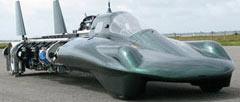 Най-бързият парен автомобил в света