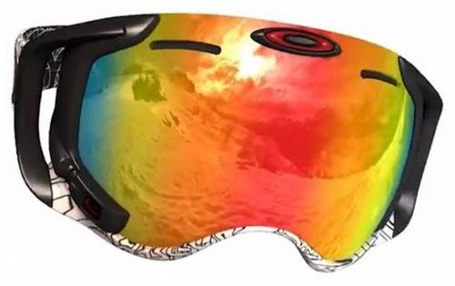Очила за ски с вграден дисплей