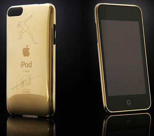 Златен iPod Touch Юсейн Болт