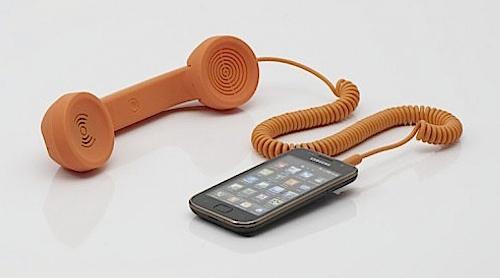 Стара телефонна слушалка