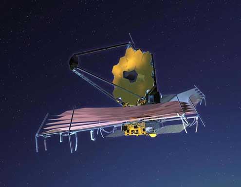 """Космическият телескоп """"Джеймс Уеб"""""""