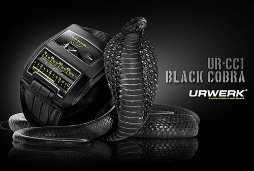 Urwerk Black Cobra