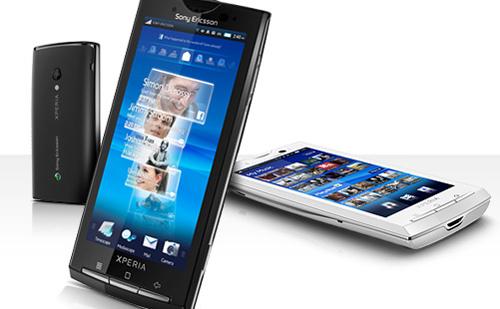 XPERIA X10 на Sony Ericsson