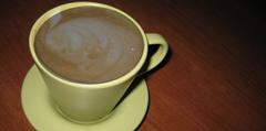 Кафе с мляко