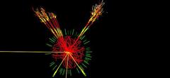 Изображение на данните от големия адронен колайдер