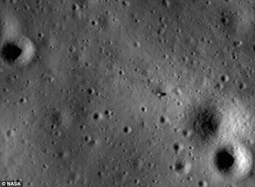 Лунната повърхност
