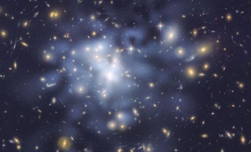 Снимка на тъмна материя