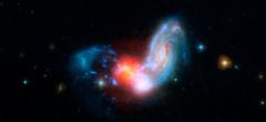 Сблъсъкът на галактиките