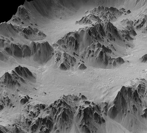 Другата страна на Марс