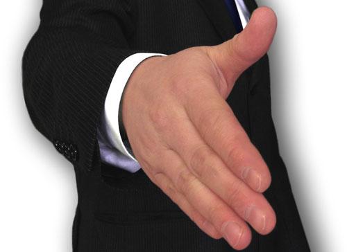 Ръкостискане