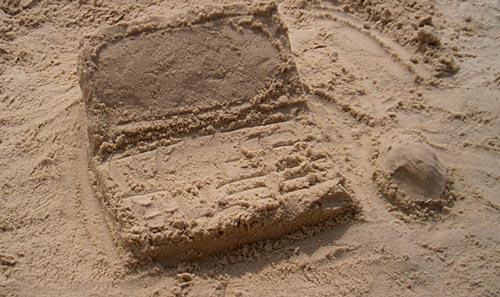 Пясъчен лаптоп