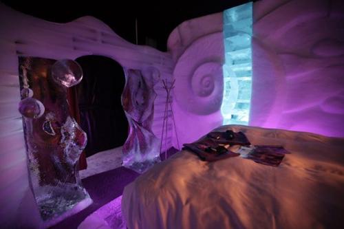 В снимки: леден хотел в Холандия