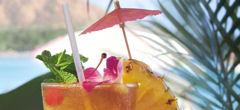 Екзотичен коктейл с ром