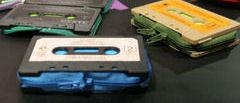 Ретро портфейли от стари касети
