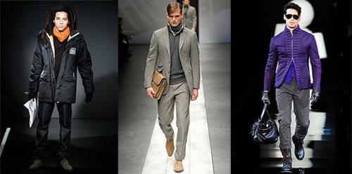 Мъжка мода есен 2010: цветовете
