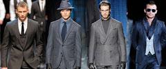 Мъжка мода есен 2010: костюми