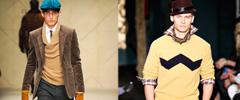 Английска мъжка мода за есен 2012