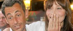 Никола Саркози и Карла Бруни-Саркози