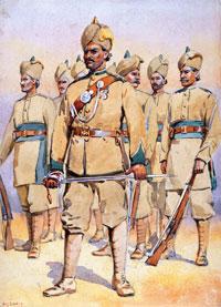 Британските униформи