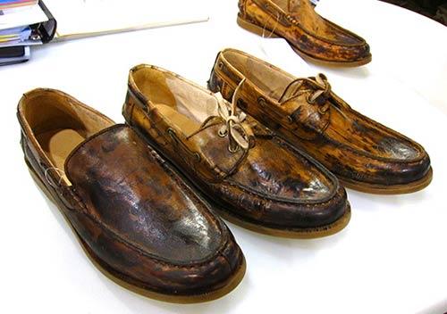 Обувки за почистване на залива