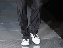 Бели обувки