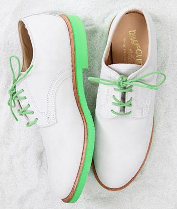 Зелени обувки
