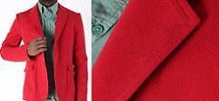 Червено сако