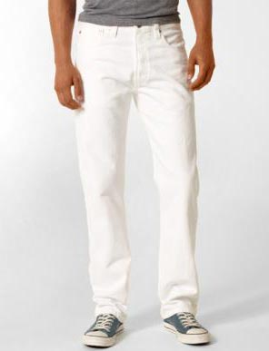 Бели дънки