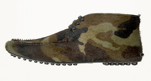 Камуфлажни обувки