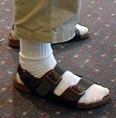 Сандали с чорапи