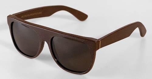 Очила с кожени рамки