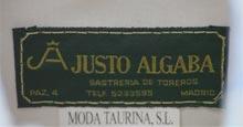 Етикет на Хусто Алгаба