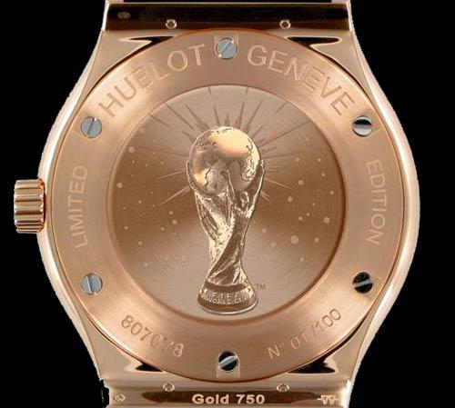 Часовникът на Мондиал 2010