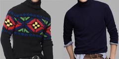 Зимният мъжки пуловер