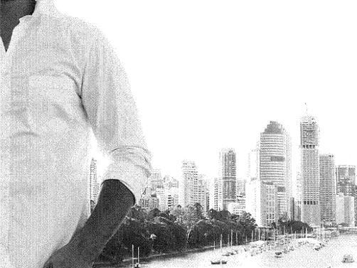 Мъж в града