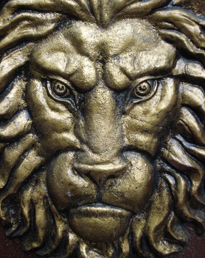 Статуя на лъв